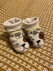 Joules Baby Slippers Age 12-18 Months