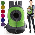 Pet Puppy Shoulder Bag Dog Carrier Backpack Cat Chest Bag For Travel Outdoor US