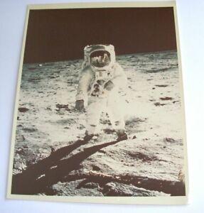 Apollo 11 Mission Kodak Photograph Aldrin Walks Surface Moon July 69 11 x 14