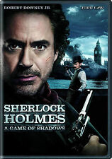 NEW DVD // Sherlock Holmes:A Game of Shadows //Robert Downey, Jr., Jude Law, Noo