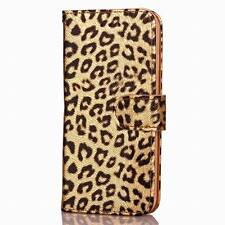 Luxury Leopard Flip Wallet Card Stand Phone Case Cover For iPhone 6 7 6S Plus