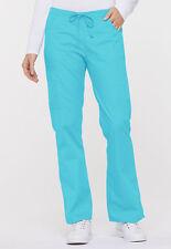 Turquoise Dickies Scrubs Eds Signature Drawstring Flare Leg Pant 86206 Tqwz