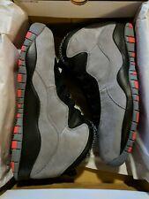 Nike Air Jordan Retro 10 X Size Sz 14 310805-023 Cool Grey/Infrared Black DS NIB