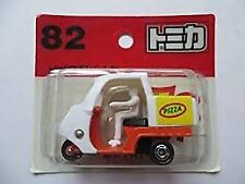 Tomica 82 pizza delivery bike blister pack Miniature Car Takara Tomy