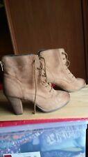 chaussures femme bottes bottines marrons marque ZIGN pointure 37 TOUT CUIR