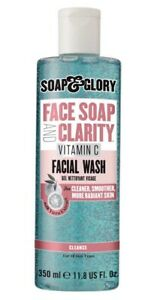 Soap & Glory Facial Soap And Clarity Vitamin C Facial Wash Radiant New Stock