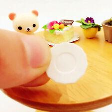 33Pcs Hot Miniature 1:12 Scale Dollhouse Tableware Kitchen Plastic Plates Set