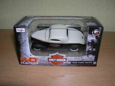 Maisto Harley-Davidson Customs 1936 Ford Coupe Cream Black, 1:64