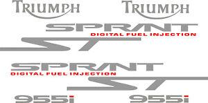 Triumph Sprint 955i ST decal set vinyl  stickers