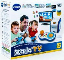 "Vtech Tablette Storio Max 2.0 5"" Rose + Storio TV + 9 Cartouche de Jeu"