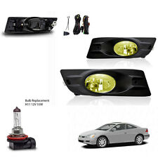 New 2006-2007 Honda Accord 2Dr Yellow Fog Light Wiring Kit Included & Light Bulb