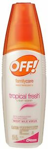 OFF! FamilyCare Insect Repellent Tropical Fresh 6 ounce