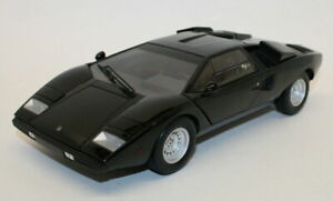 Kyosho 1/18 Scale Metal Model Car 08321BK - Lamborghini Countach LP400 - Black