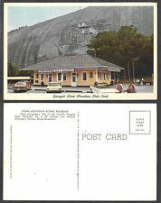 Old Georgia Railroad Postcard - Stone Mountain Scenic Railroad Station