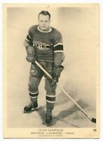 1939/40 OPC Cliff Goupille Card #22 Montreal Canadiens