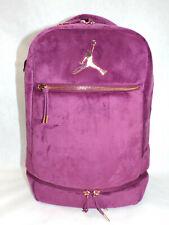New Womens Nike Jordan Velvet Bordeaux 9A0046-P3D Laptop Backpack MSRP $85
