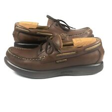 f965d5b22fd Mephisto Spinnaker Boat Shoes Brown Leather Mens 12 EU 11.5