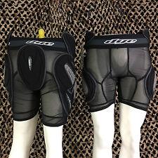 NEW Dye Paintball Protective Padded Slide SLAM Shorts - Black - X-Large