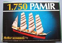 PRL) MONTAGGIO MODELLINO MODEL KIT 1/750 HELLER HUMBROL PAMIR MAQUETTE MODELL 70