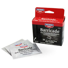 Birchwood Casey Barricade 25pk Rust Protection Cloths