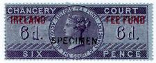 (I.B) QV Revenue : Ireland Chancery Fee Fund 6d (specimen)