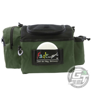 Fade Gear CRUNCH BOX Disc Golf Bag Holds 12+ Discs - PICK YOUR COLOR