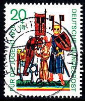613 Vollstempel gestempelt EST Ersttag mit Gummi BRD Bund Deutschland 1970