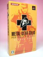 Used PSP Metal Gear Solid Portable Opus & Plus Deluxe Pack Edition from Japan