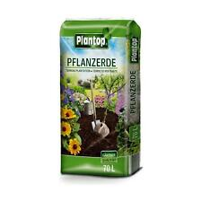 Plantop Pflanzerde Kultursubstrat für alle Pflanzen im Garten & Kübeln, 70 Liter