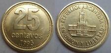 Argentinien 25 Centavos 1993