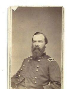 Vintage CDV Union General Alvan Cullem Gillem American Civil War