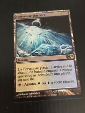 MTG MAGIC M13 GLACIAL FORTRESS (FRENCH FORTERESSE GLACIAIRE) NM FOIL