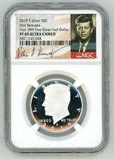 2019 S NGC PF70 .999 PROOF SILVER KENNEDY HALF DOLLAR ULTRA CAMEO JFK SIGNATURE