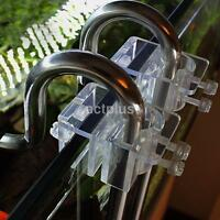 Acrylic 20mm Aquarium Tank Filter Outflow Inflow Pipe Holder Water Hose Holder S
