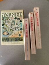 J.R.R. Tolkien THE LORD OF THE RINGS Box Set 1974 Special Edition with box
