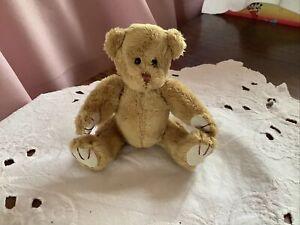 Mini Plush Jointed Teddy Bear