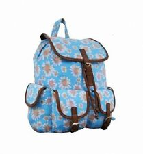 Girls Canvas Backpacks & Rucksacks with Extra Compartments