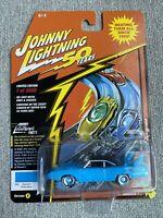 Johnny Lightning 1 of 3500 Looney Tunes  1970 Plymouth Super Bird Petty blue noc