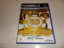 PlayStation 2  PS 2  World Series of Poker - Tournament of Champions 2007 Editio