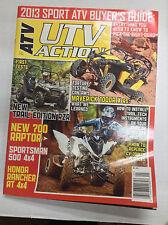 ATV UTV Action Magazine Maverick 1000R X RS January 2013 032617nonR