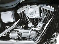 Filtro Aria Per Harley-Davidson Kuryakyn Hypercharger Chrome Air Cleaner Kit