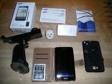 Samsung  Galaxy Note GT-N7000 - 16GB - Carbon Blue (Ohne Simlock) Smartphone