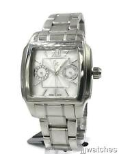 New Gc Guess Swiss Multifunction Women Pearl Dial Watch 35mm x 40mm 26502L1 $299