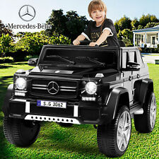Black 12V Electric Kids Ride On Car Toy Mercedes-Benz USB MP3 LED Remote Control