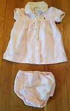 Ralph Lauren Short Sleeve Dress with Bloomers size 3M