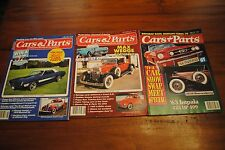 lot 3 vintage Cars & Parts magazines May September 1991 April 1994 '66 Mustang