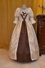 Costume di Scena Abito Storico Abito d'Epoca  Costume Storico Barocco 1600 BM03