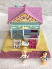 Vintage Pollyville Polly Pocket Bluebird 1993 Beach Cafe, Complete