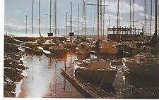 Silver Sands Marina, Great Salt Lake, Utah, Unused Vintage Chrome Postcard