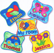 PATTERN - My Room - applique & pieced name plaque PATTERN - Kids Quilts